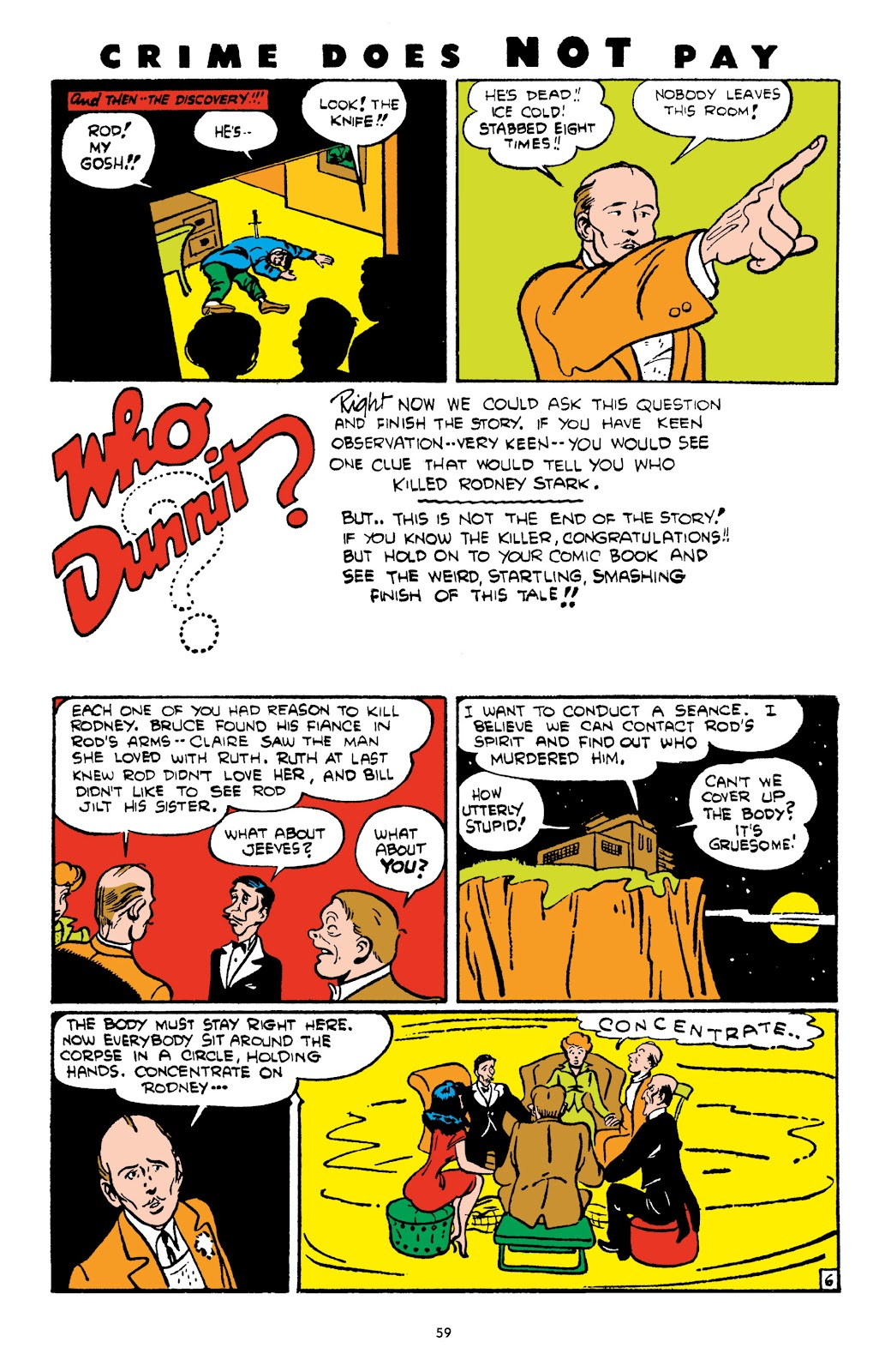 Read online Crime Does Not Pay Archives comic -  Issue # TPB 4 (Part 1) - 59