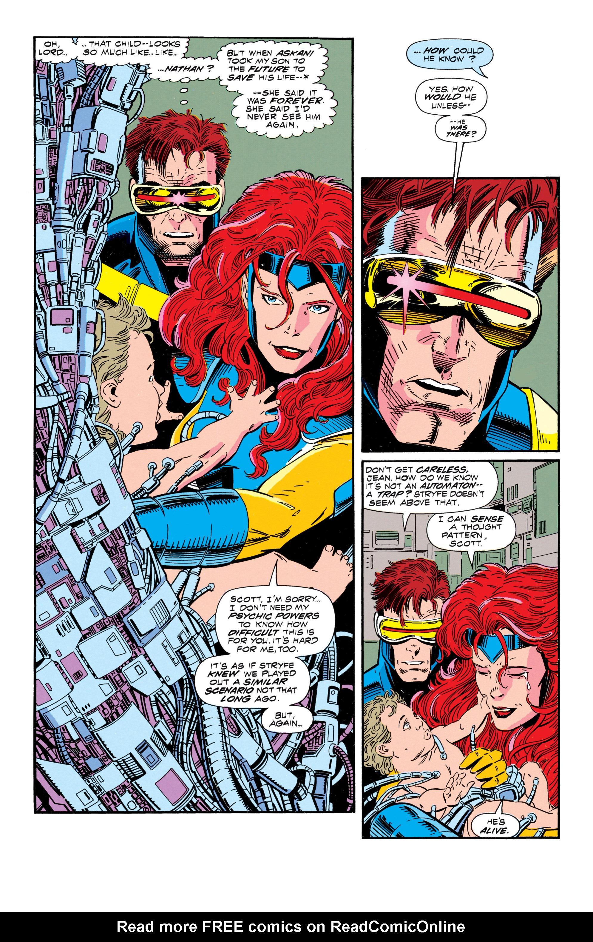 Read online Uncanny X-Men (1963) comic -  Issue #296 - 16