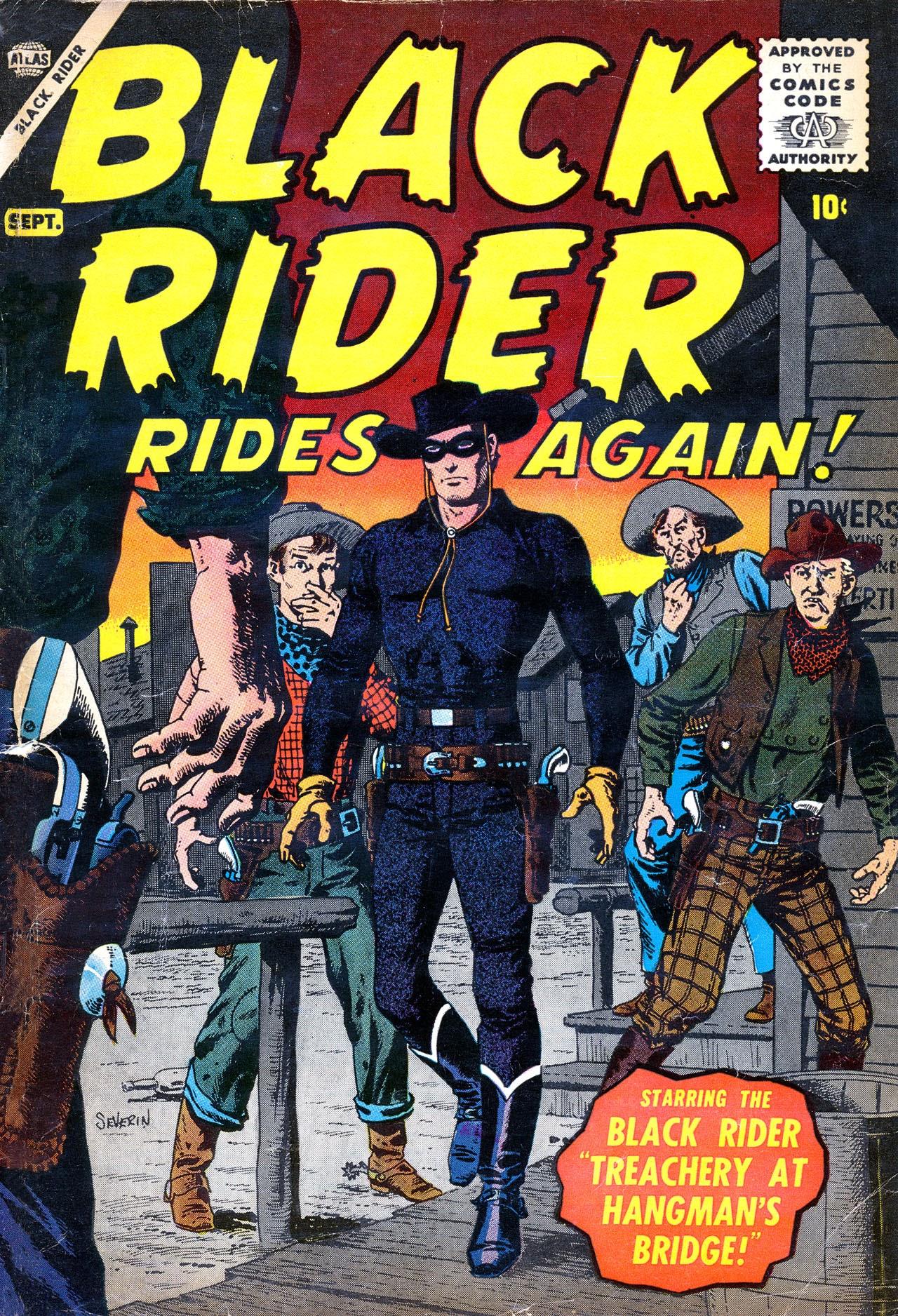 Black Rider Rides Again! Full Page 1