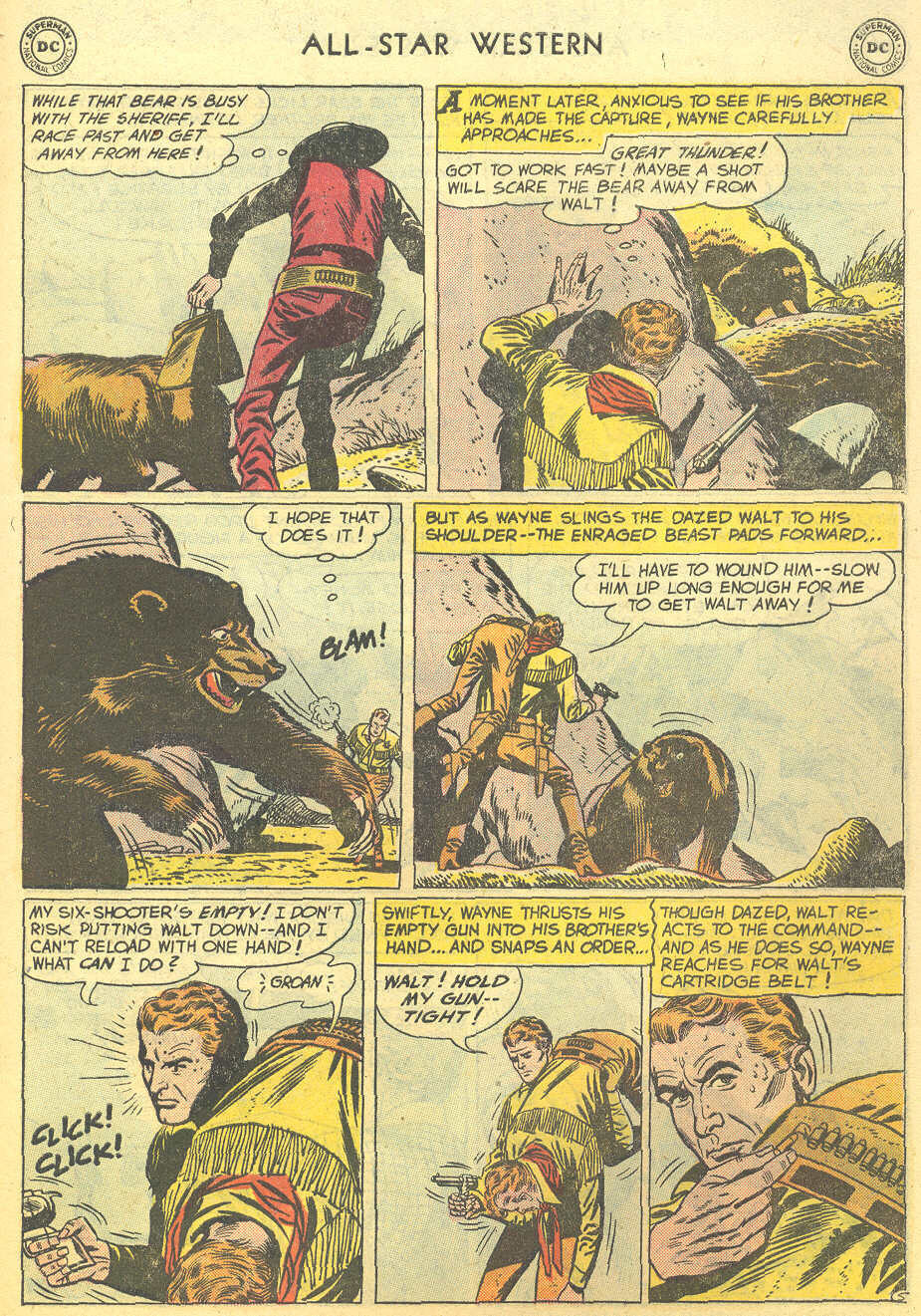 Read online All-Star Western (1951) comic -  Issue #95 - 7
