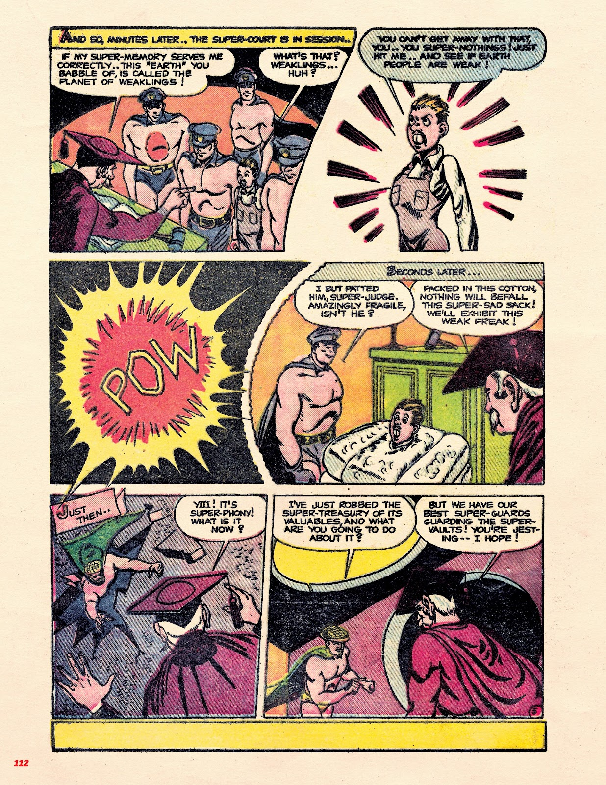 Read online Super Weird Heroes comic -  Issue # TPB 2 (Part 2) - 12