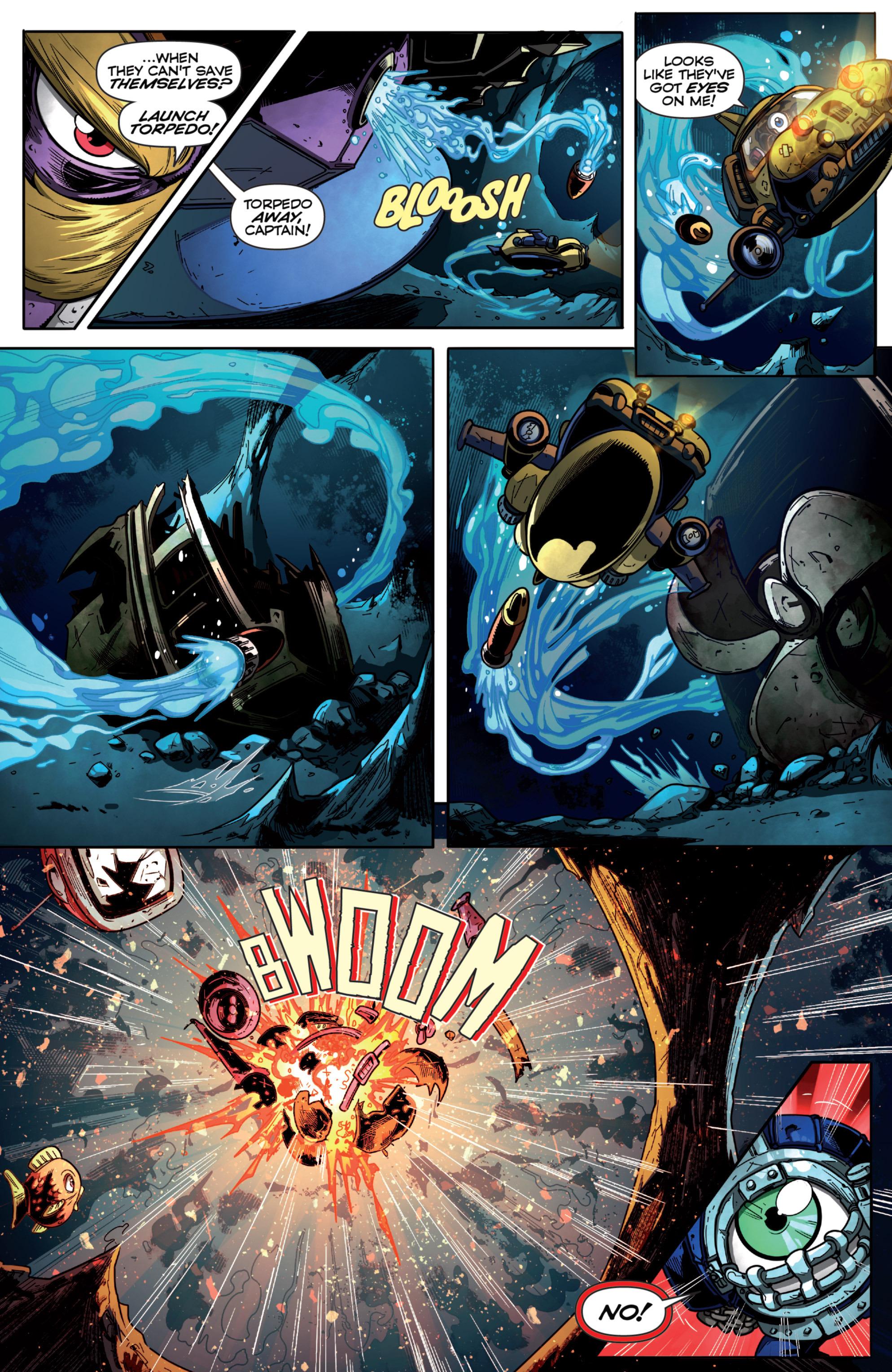 Read online Skylanders Superchargers comic -  Issue #6 - 5
