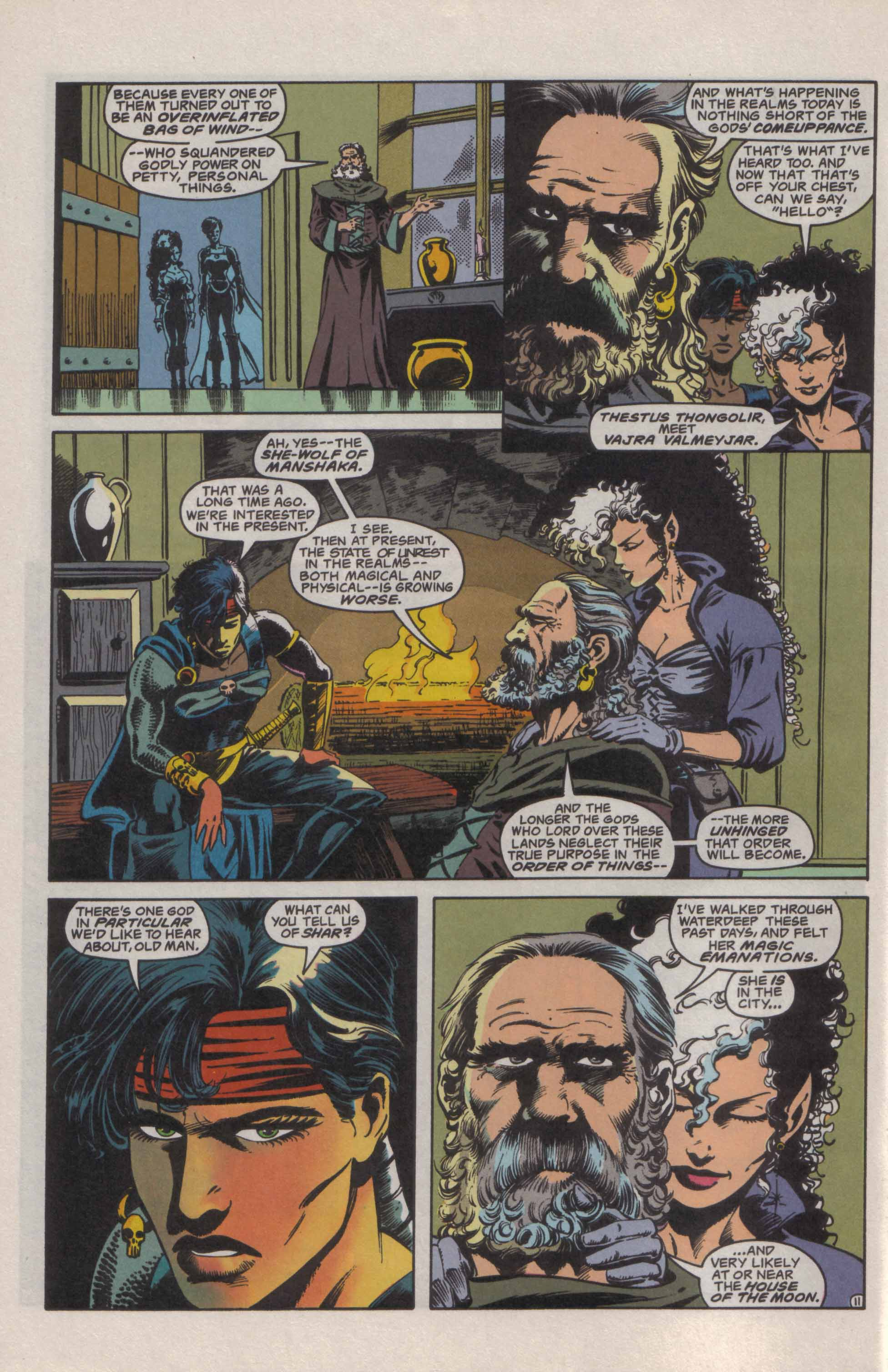 Read online Advanced Dungeons & Dragons comic -  Issue #21 - 12