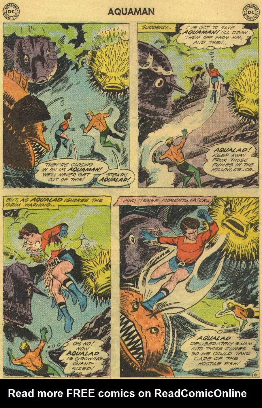 Read online Aquaman (1962) comic -  Issue #2 - 8