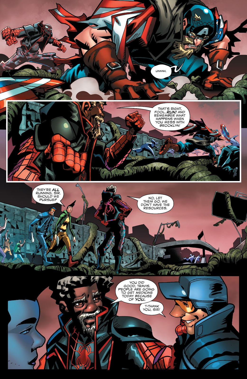 Read online Miles Morales: The End comic -  Issue # Full - 17