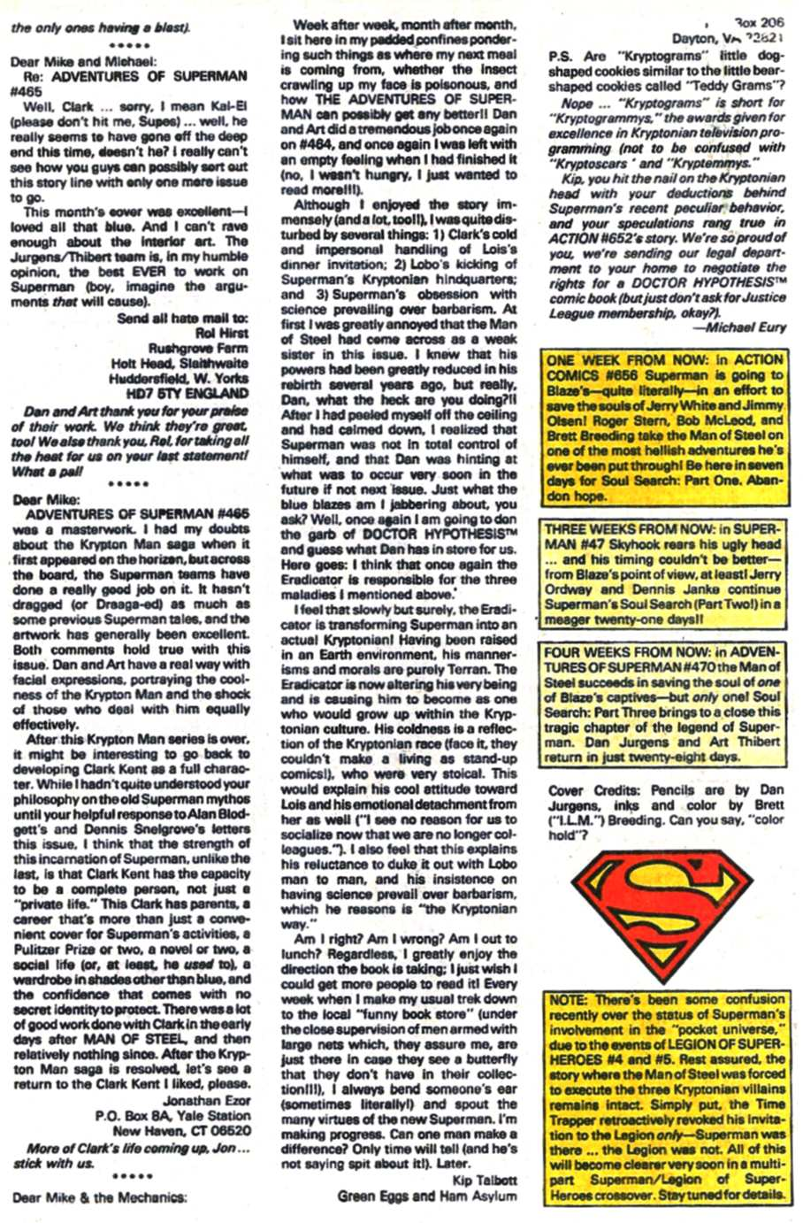 Read online Adventures of Superman (1987) comic -  Issue #469 - 25
