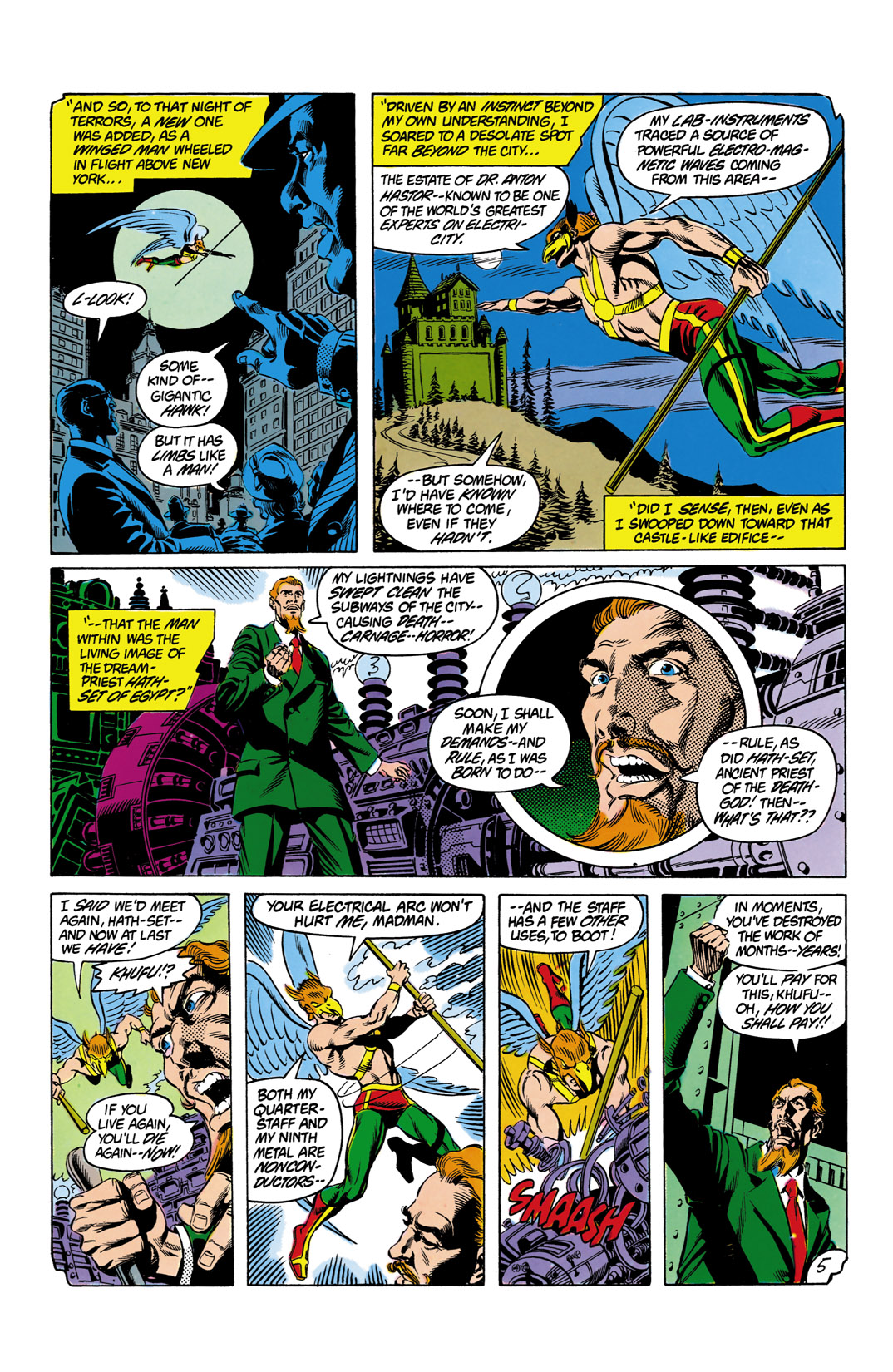 Read online All-Star Squadron comic -  Issue #12 - 6