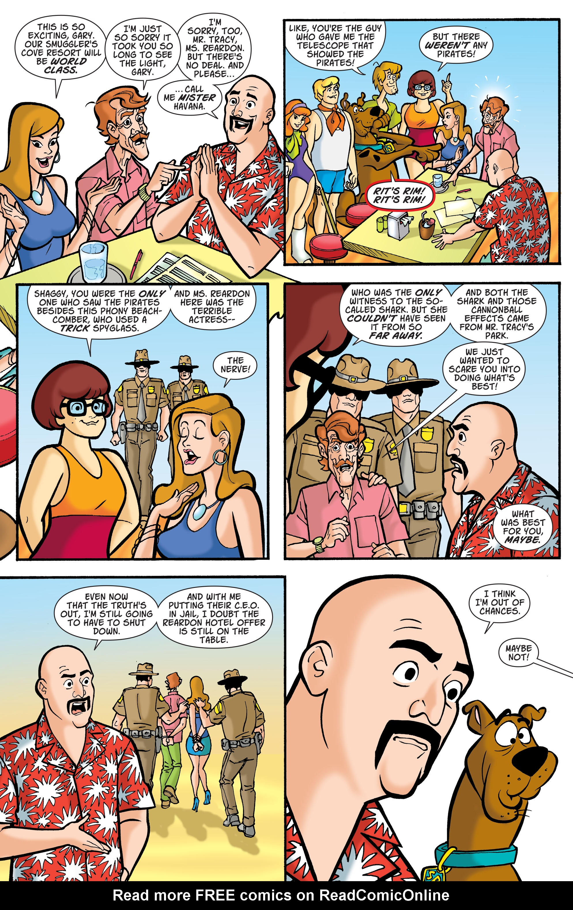 Read online Scooby-Doo: Where Are You? comic -  Issue #77 - 10