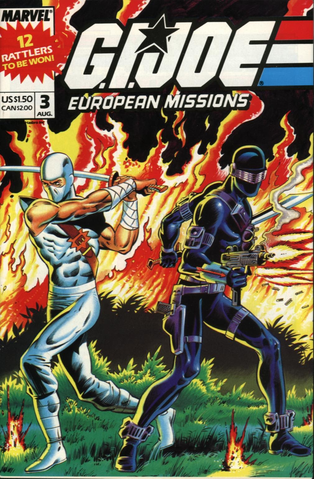 G.I. Joe European Missions issue 3 - Page 1