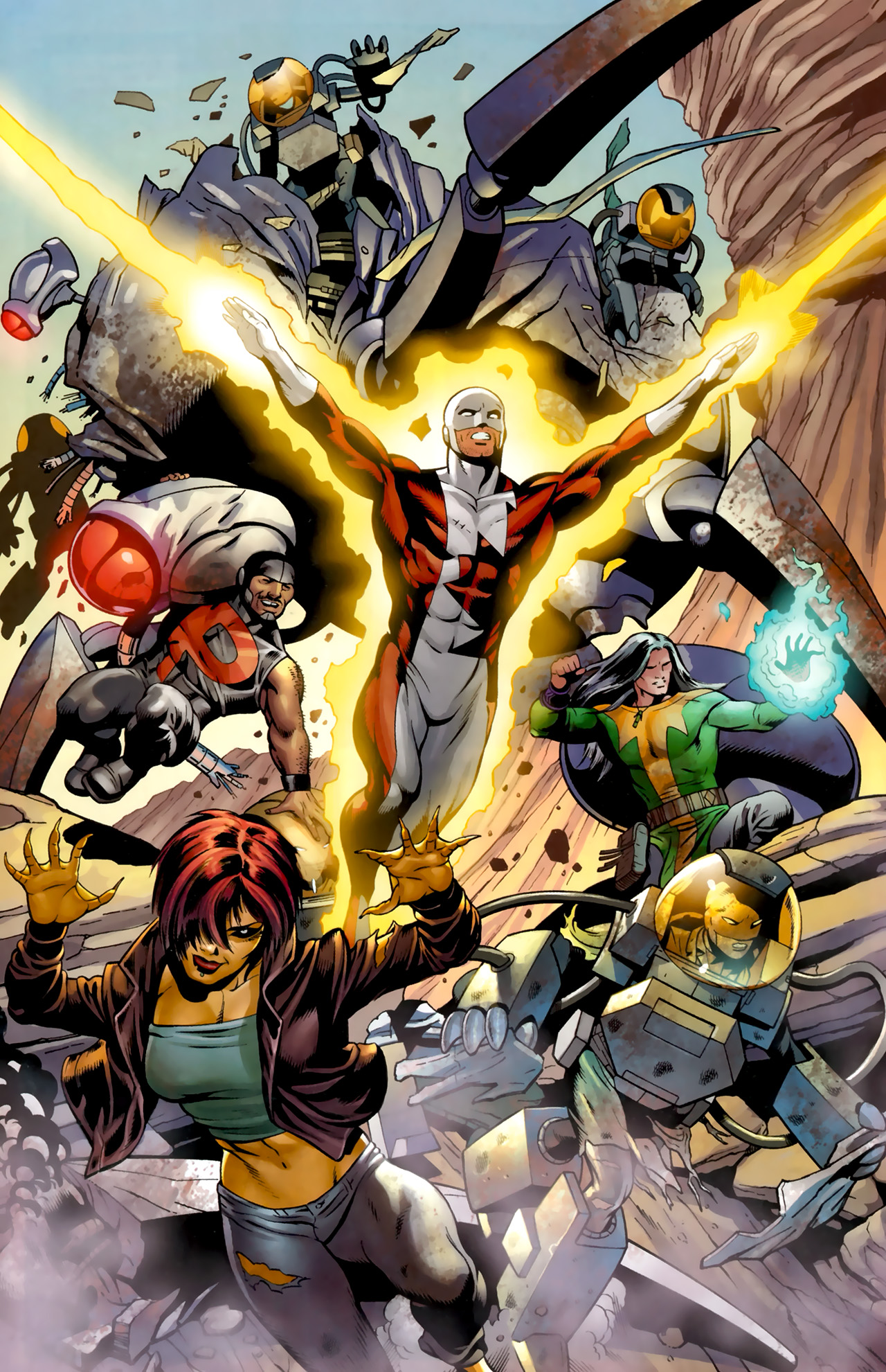 Read online Alpha Flight (2011) comic -  Issue #4 - 20