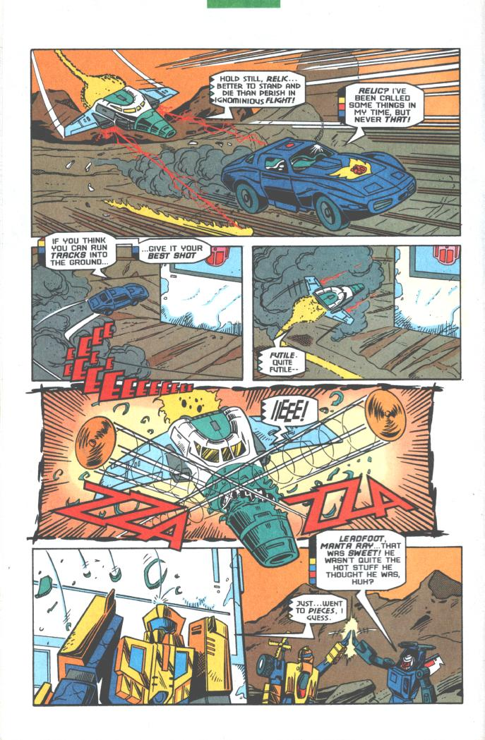 Read online Transformers: Generation 2 comic -  Issue #10 - 8