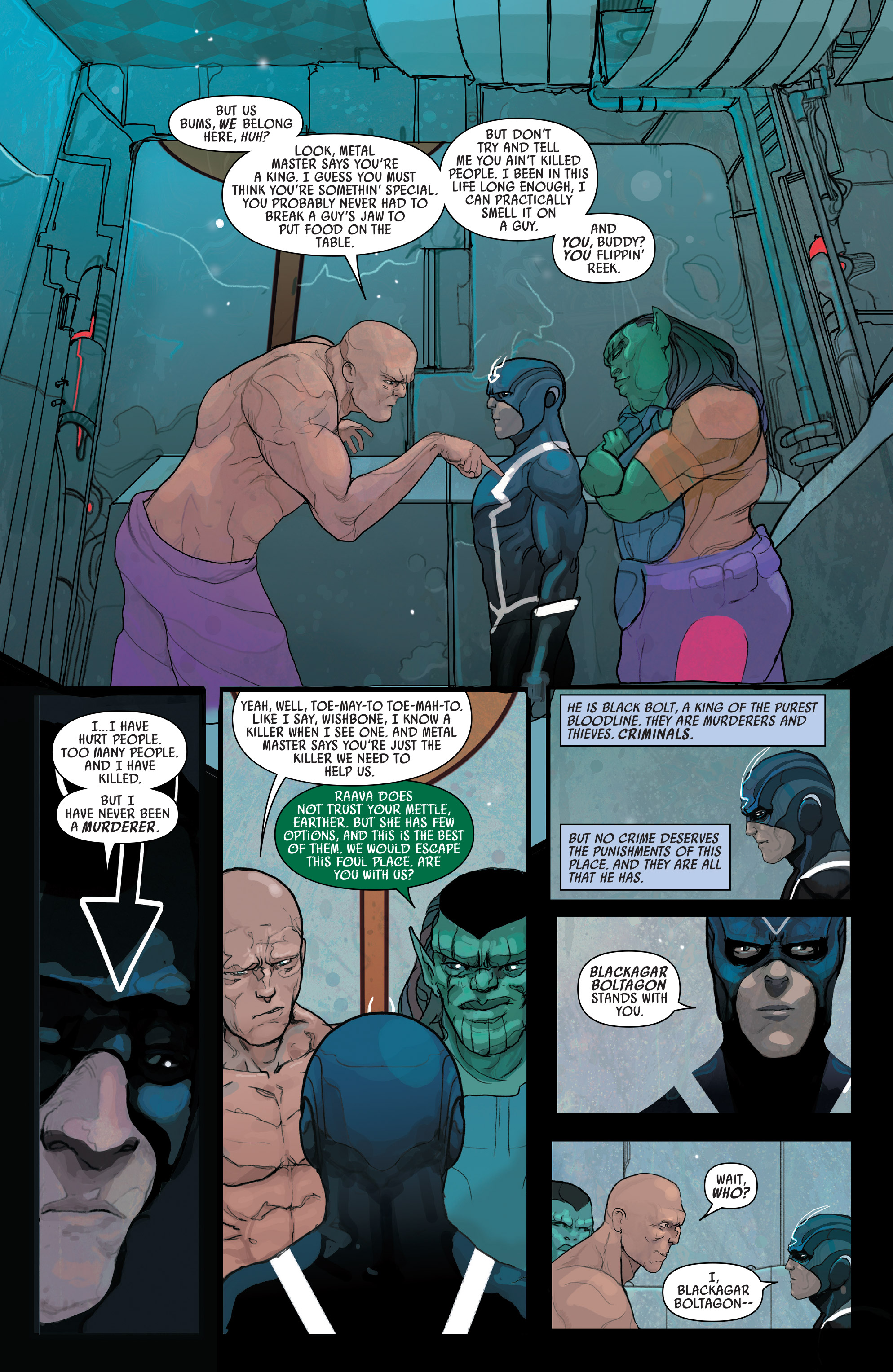 Read online Black Bolt comic -  Issue #2 - 20