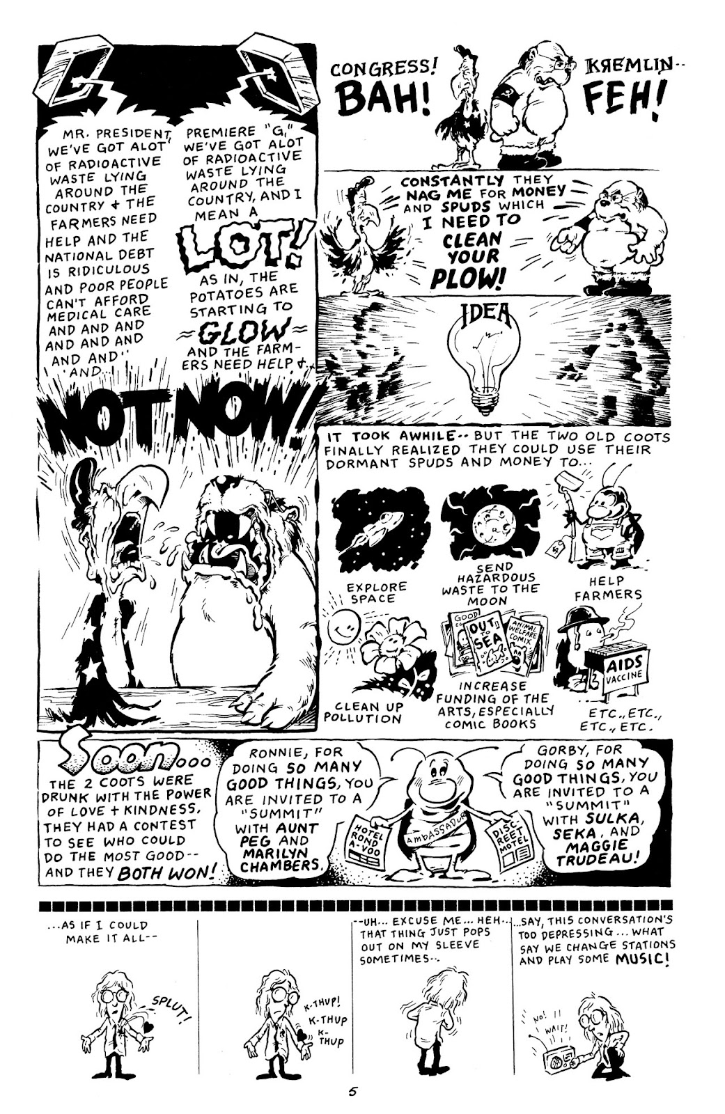 Adolescent Radioactive Black Belt Hamsters (1986) issue 8 - Page 30