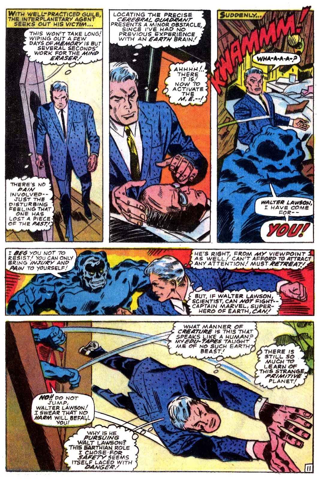 Captain Marvel (1968) issue 5 - Page 12