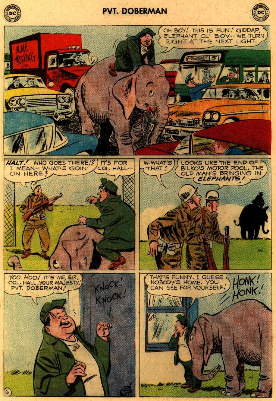 Sgt. Bilko's Pvt. Doberman issue 9 - Page 8