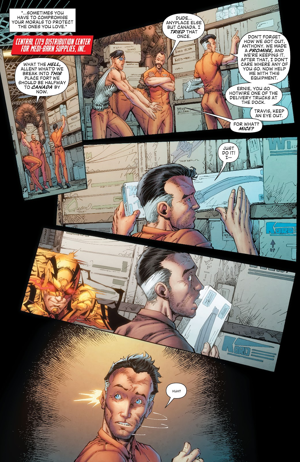 Read online The Flash (2011) comic -  Issue # _TPB 8 (Part 1) - 34