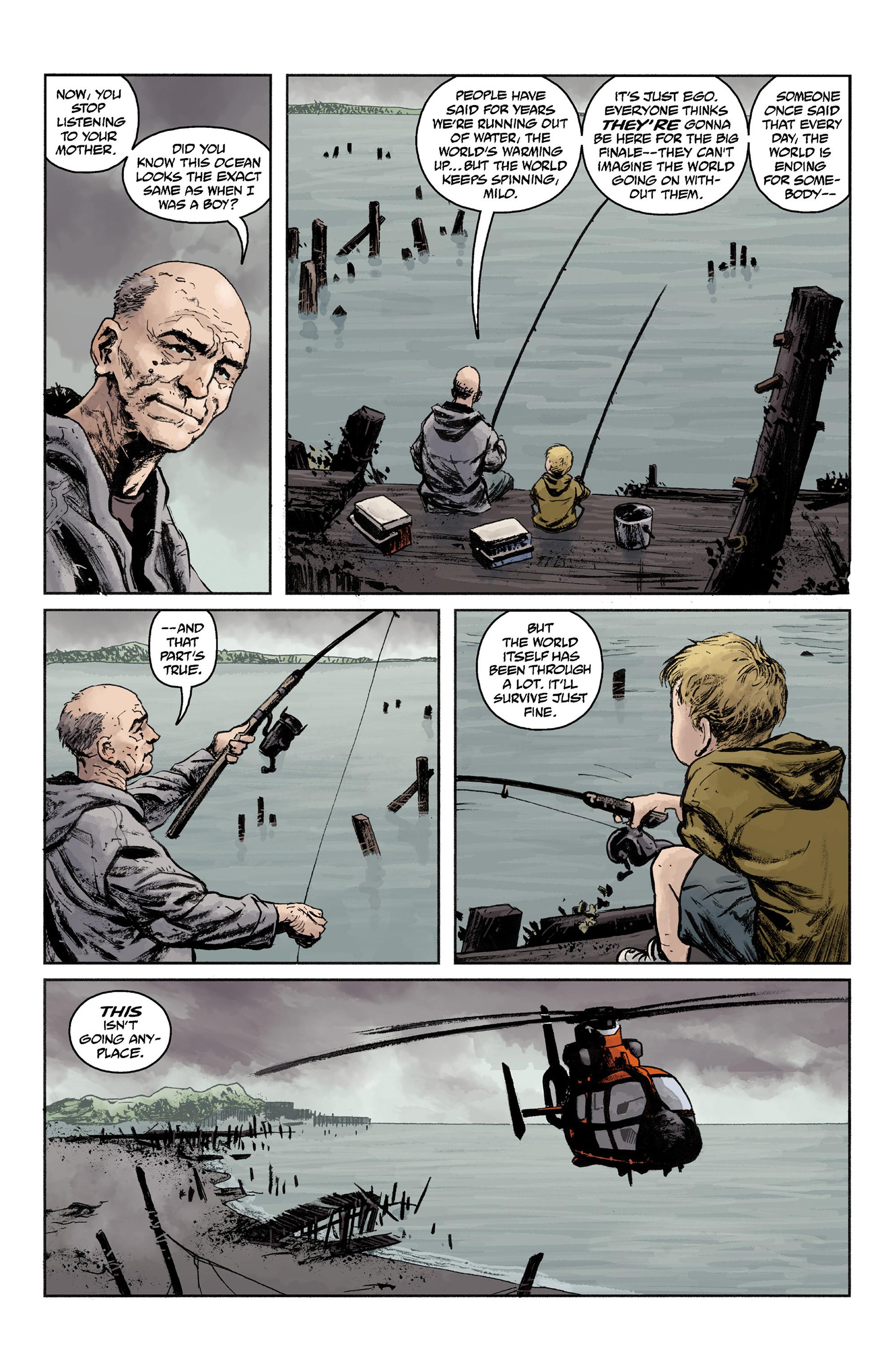 Read online Abe Sapien comic -  Issue #36 - 4