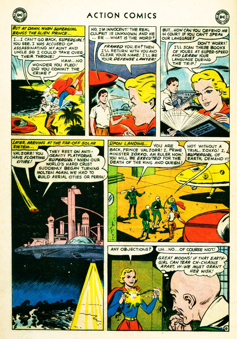Read online Action Comics (1938) comic -  Issue #263 - 28
