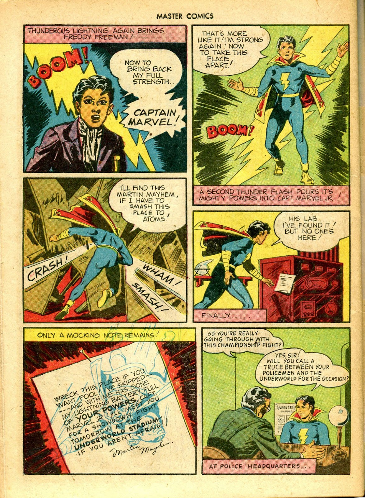 Master Comics issue 52 - Page 36