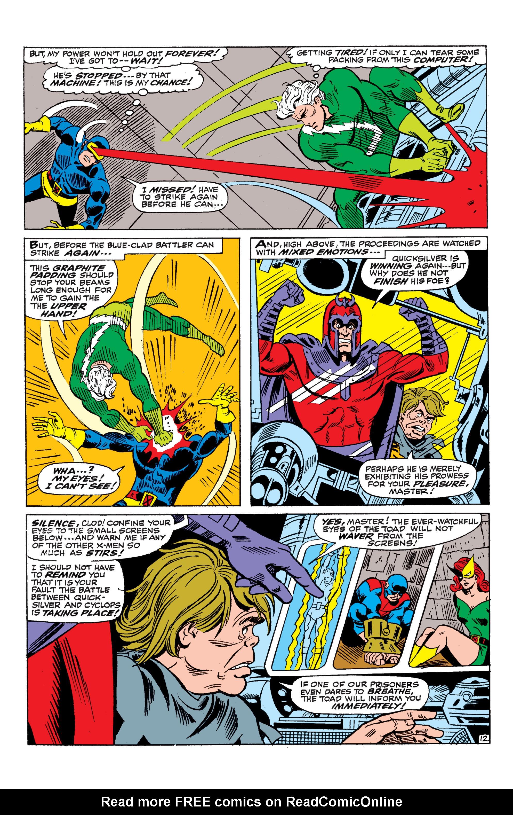 Uncanny X-Men (1963) 45 Page 12
