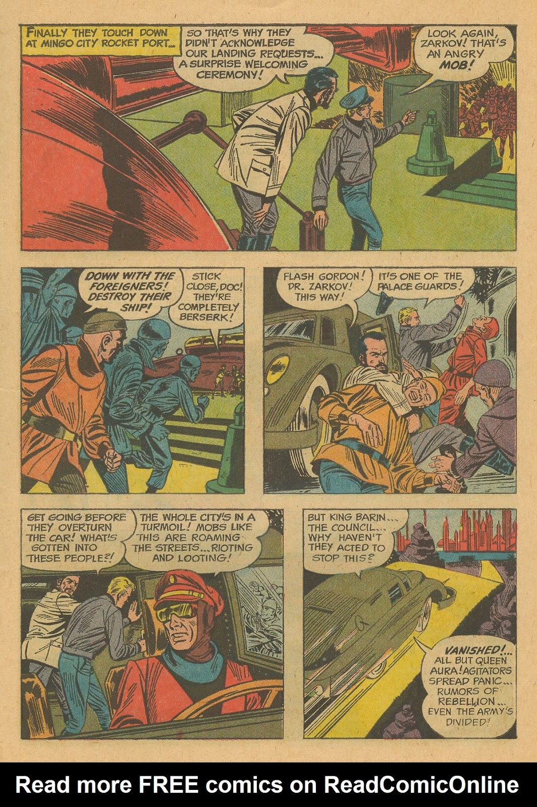 Flash Gordon (1966) issue 2 - Page 7