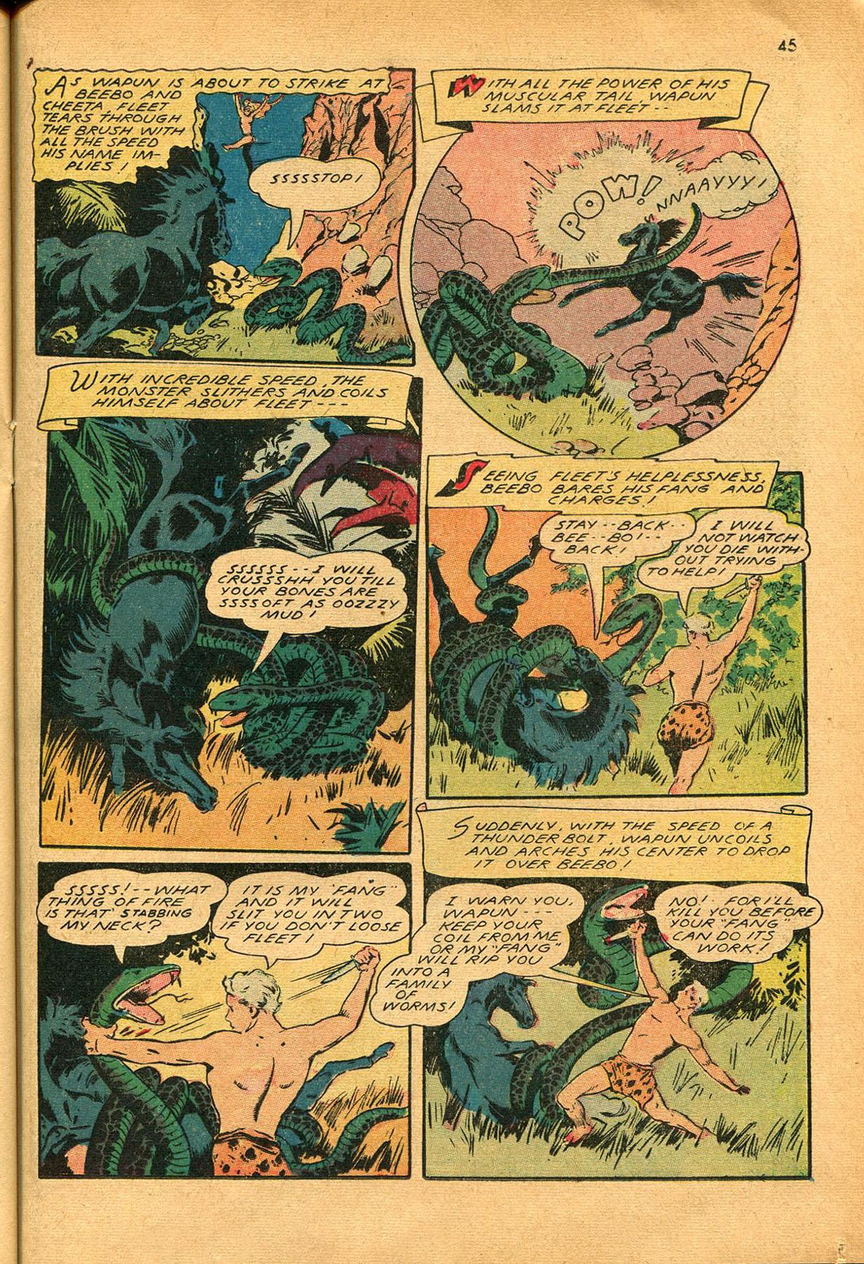 Read online Shadow Comics comic -  Issue #23 - 45