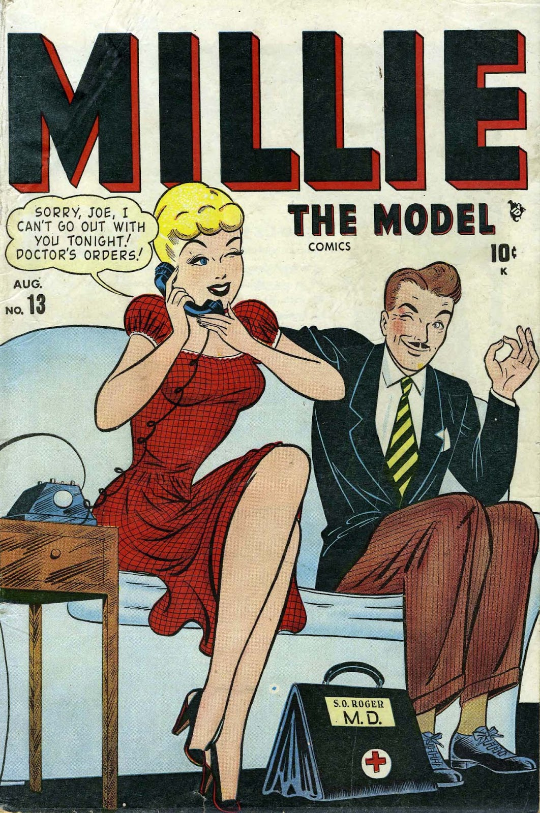 Read online Millie the Model comic -  Issue #13 - 1