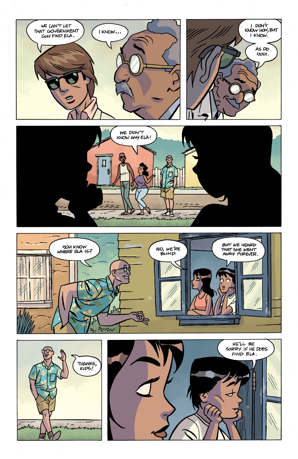 Read online The Twilight Children comic -  Issue #4 - 8