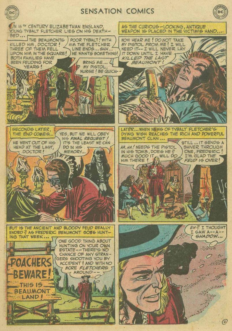 Read online Sensation (Mystery) Comics comic -  Issue #107 - 14