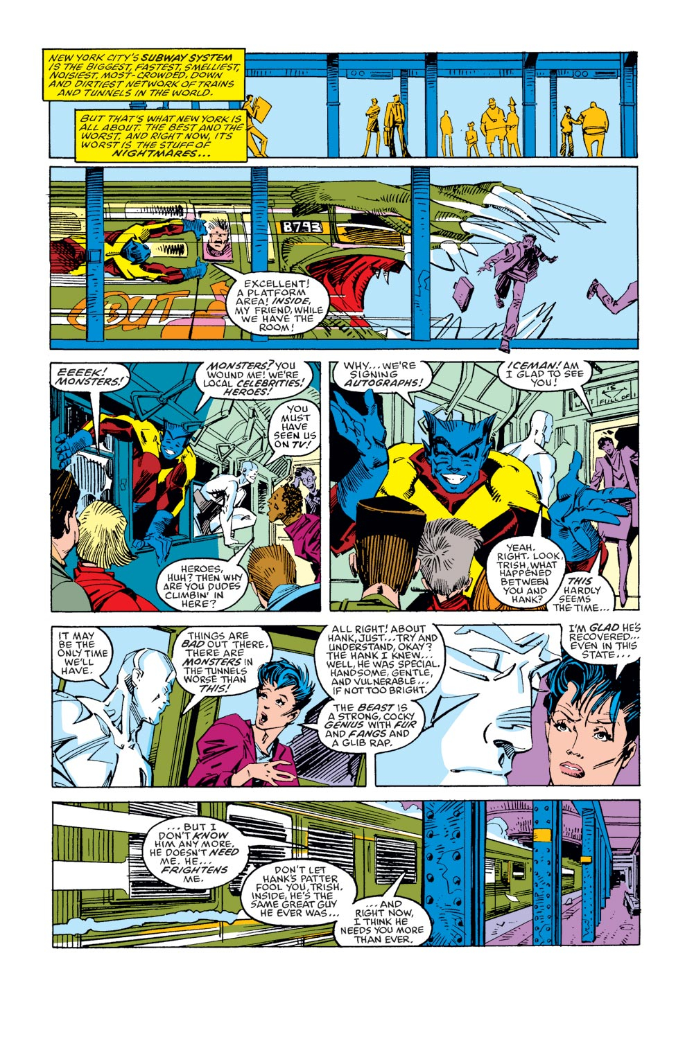 Read online X-Factor (1986) comic -  Issue #36 - 9