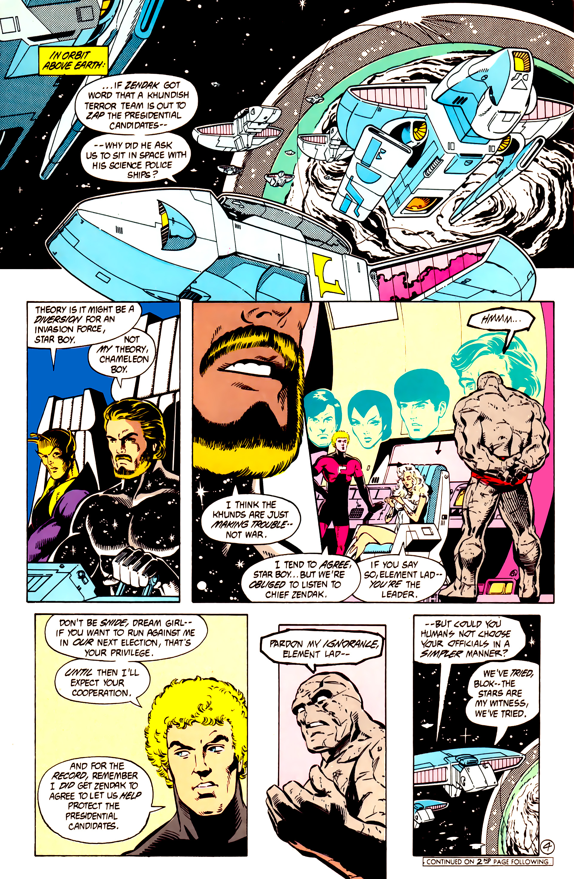 Legion of Super-Heroes (1984) 10 Page 5