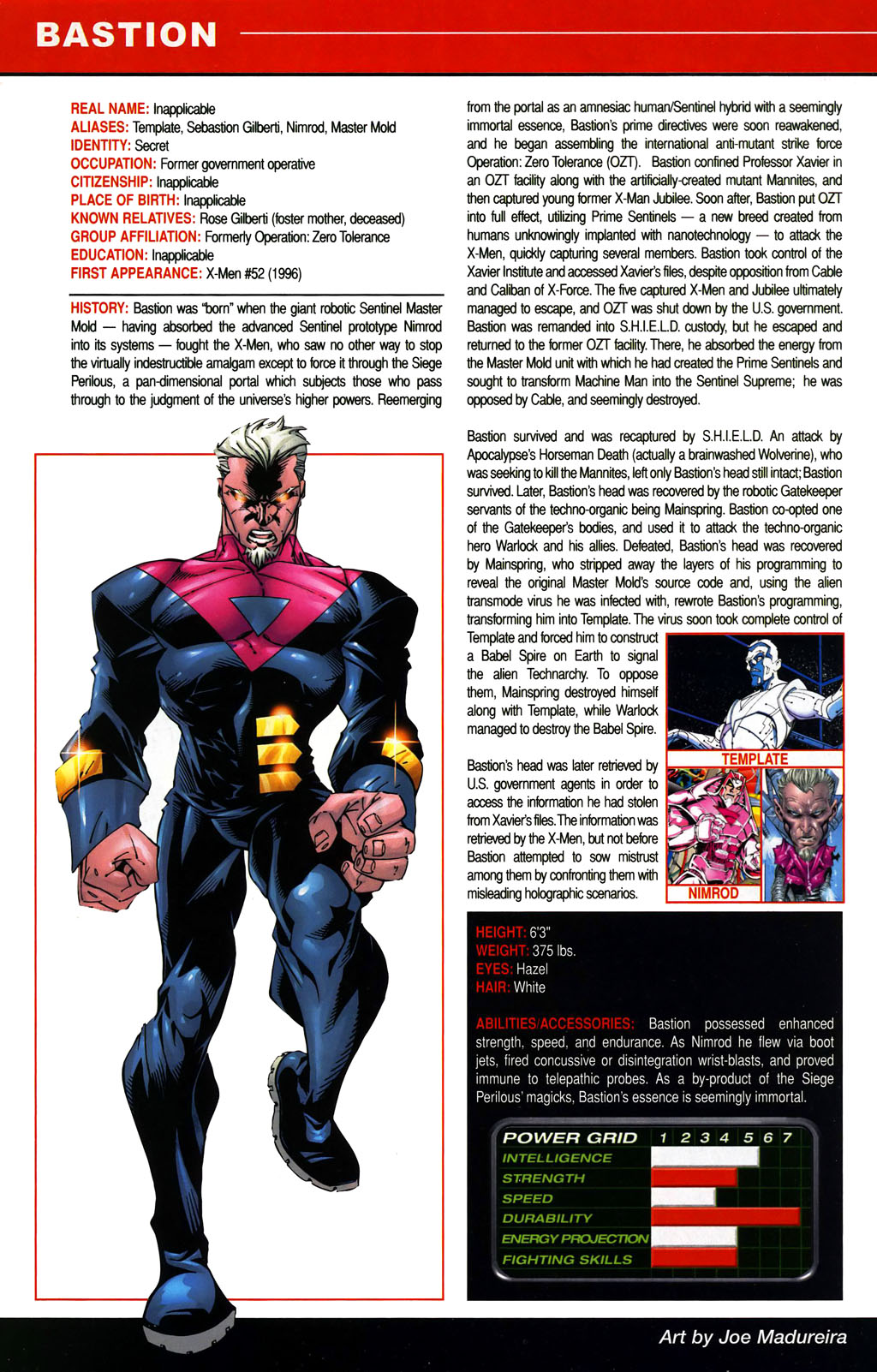 Read online All-New Official Handbook of the Marvel Universe A to Z comic -  Issue #1 - 66