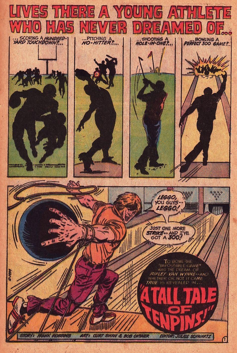Read online Strange Sports Stories (1973) comic -  Issue #1 - 15