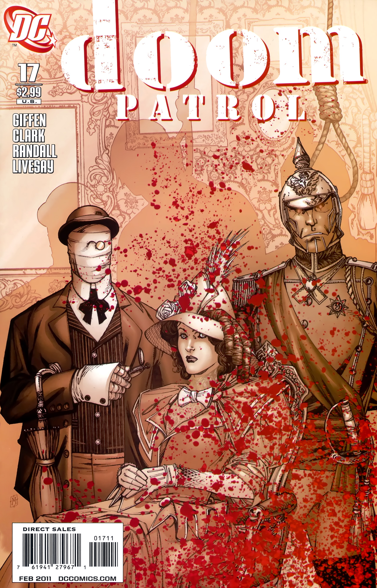Doom Patrol (2009) 17 Page 1