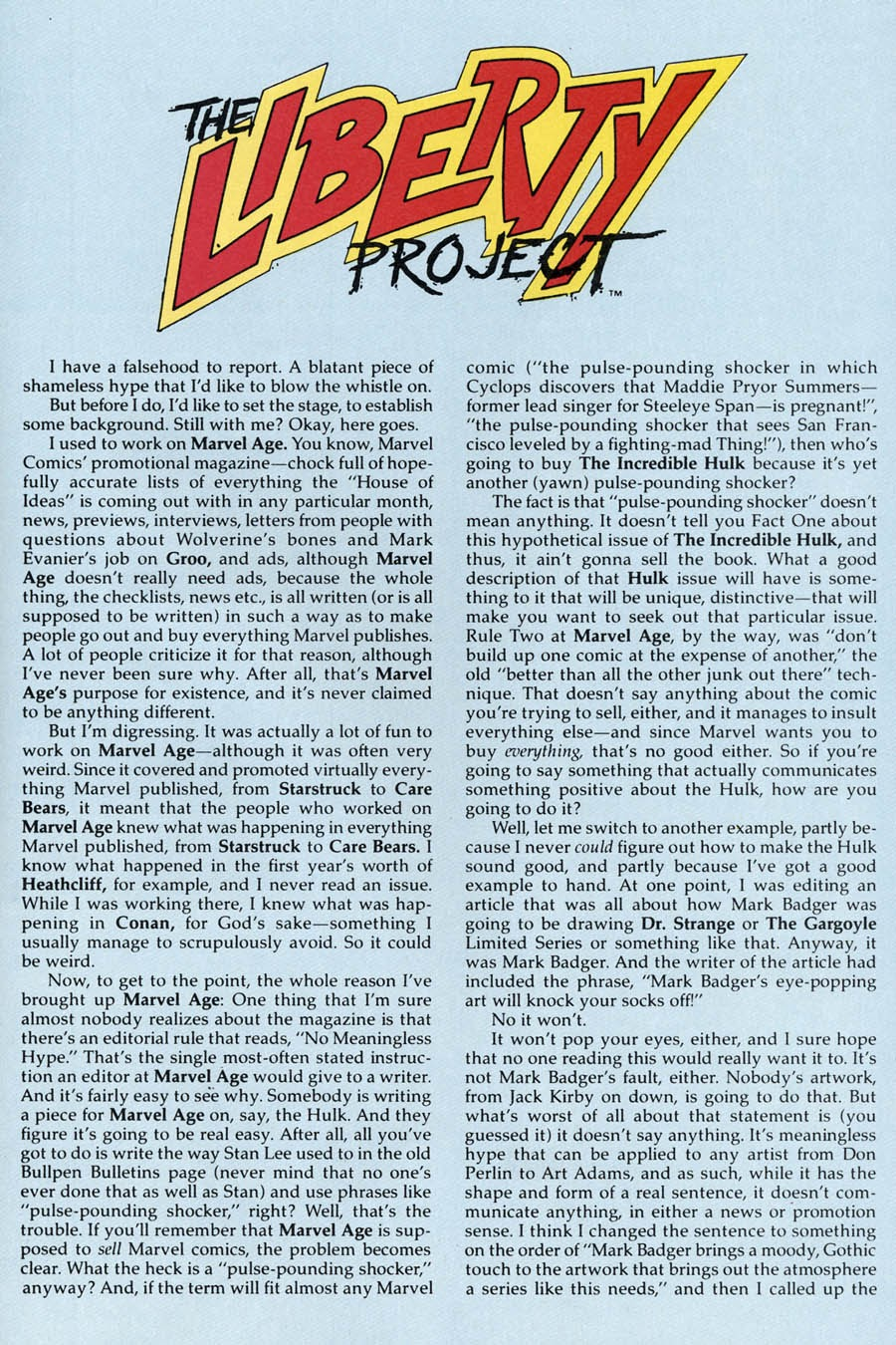 Liberty Project issue 3 - Page 27
