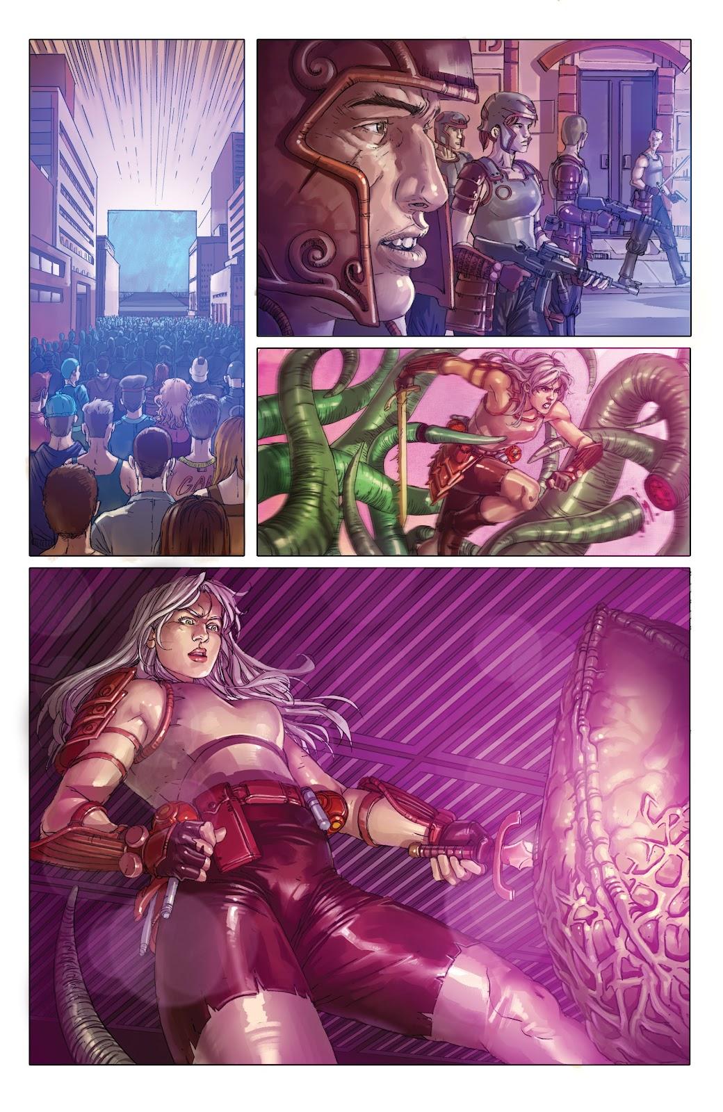 Read online Taarna comic -  Issue #4 - 13