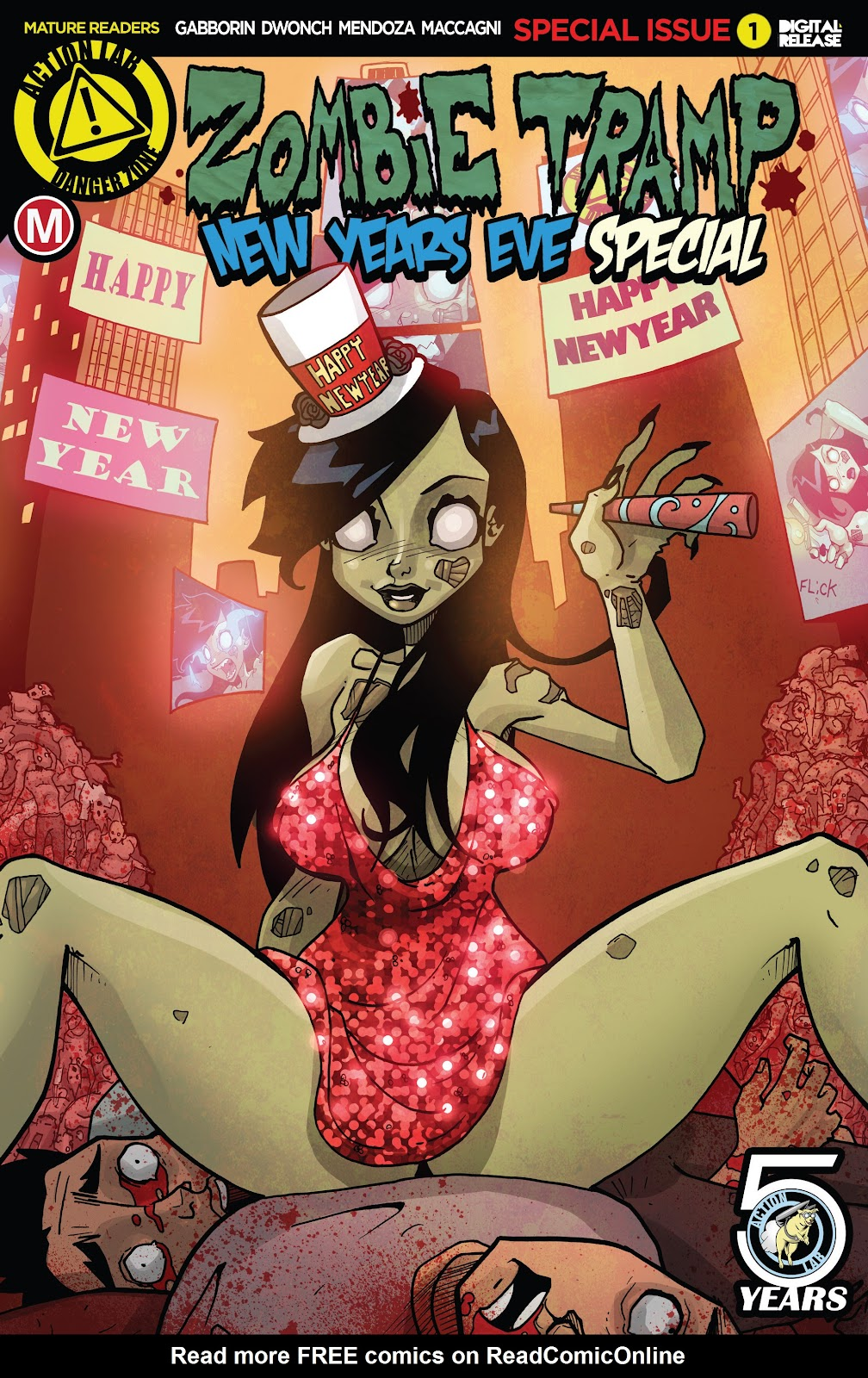 Zombie Tramp: New Years Eve Special Full Page 1