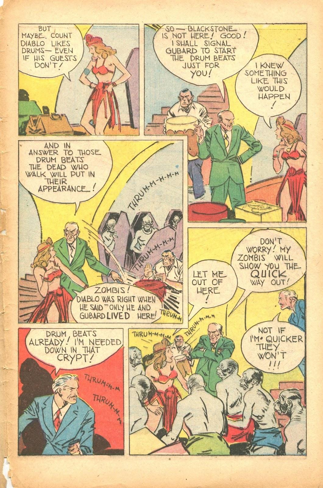Read online Super-Magician Comics comic -  Issue #35 - 47