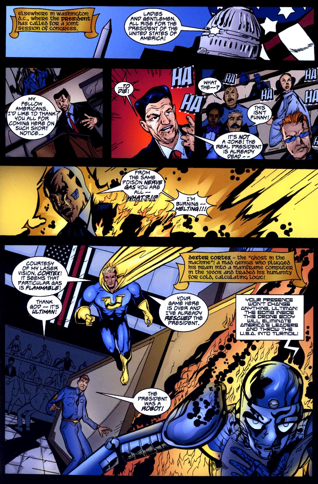 Read online Big Bang: Round Table of America comic -  Issue # Full - 5