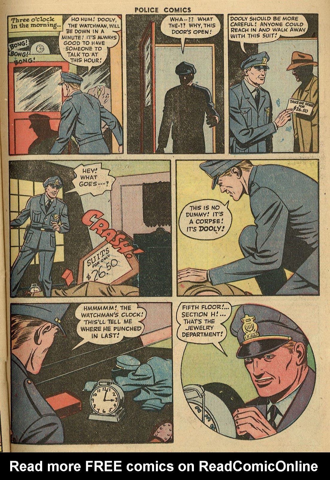 Police Comics issue 45 - Page 39