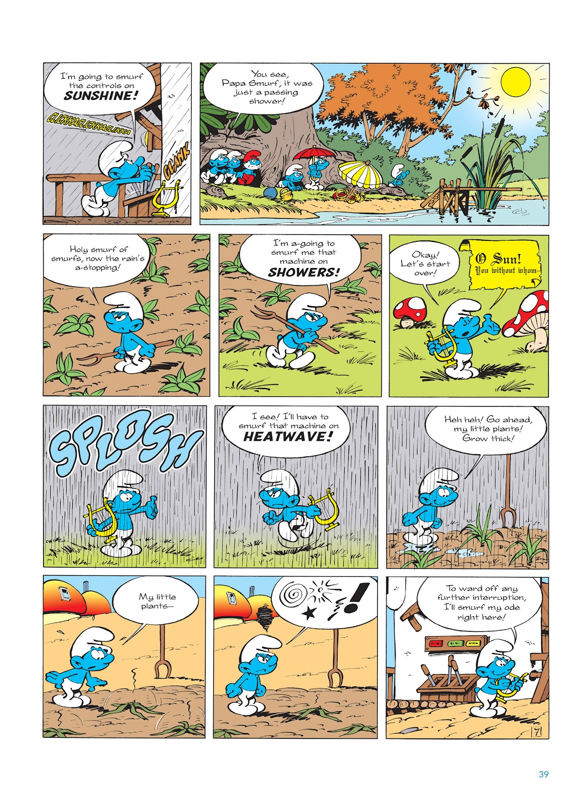 Read online The Smurfs comic -  Issue #14 - 40