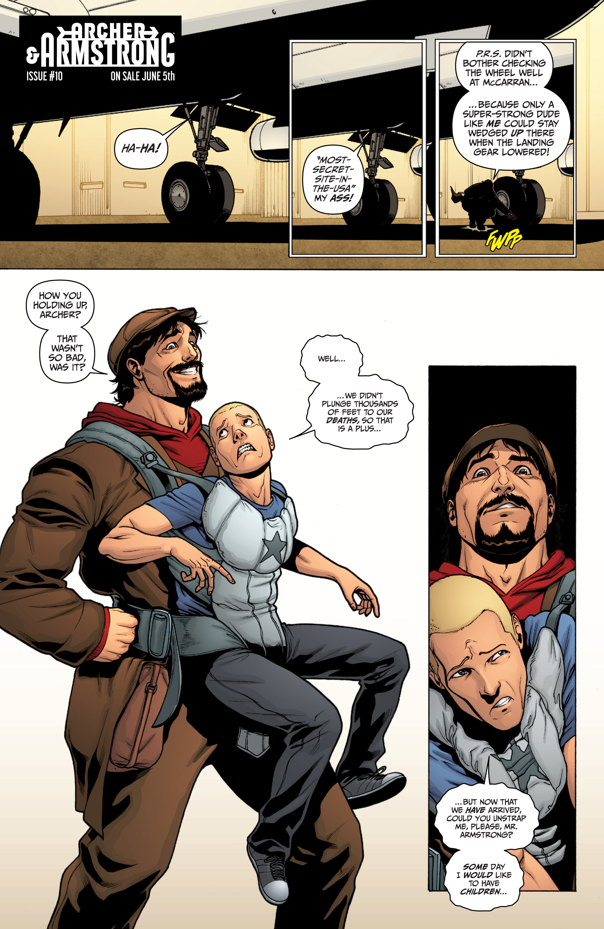 Read online Archer and Armstrong comic -  Issue #0 - 23