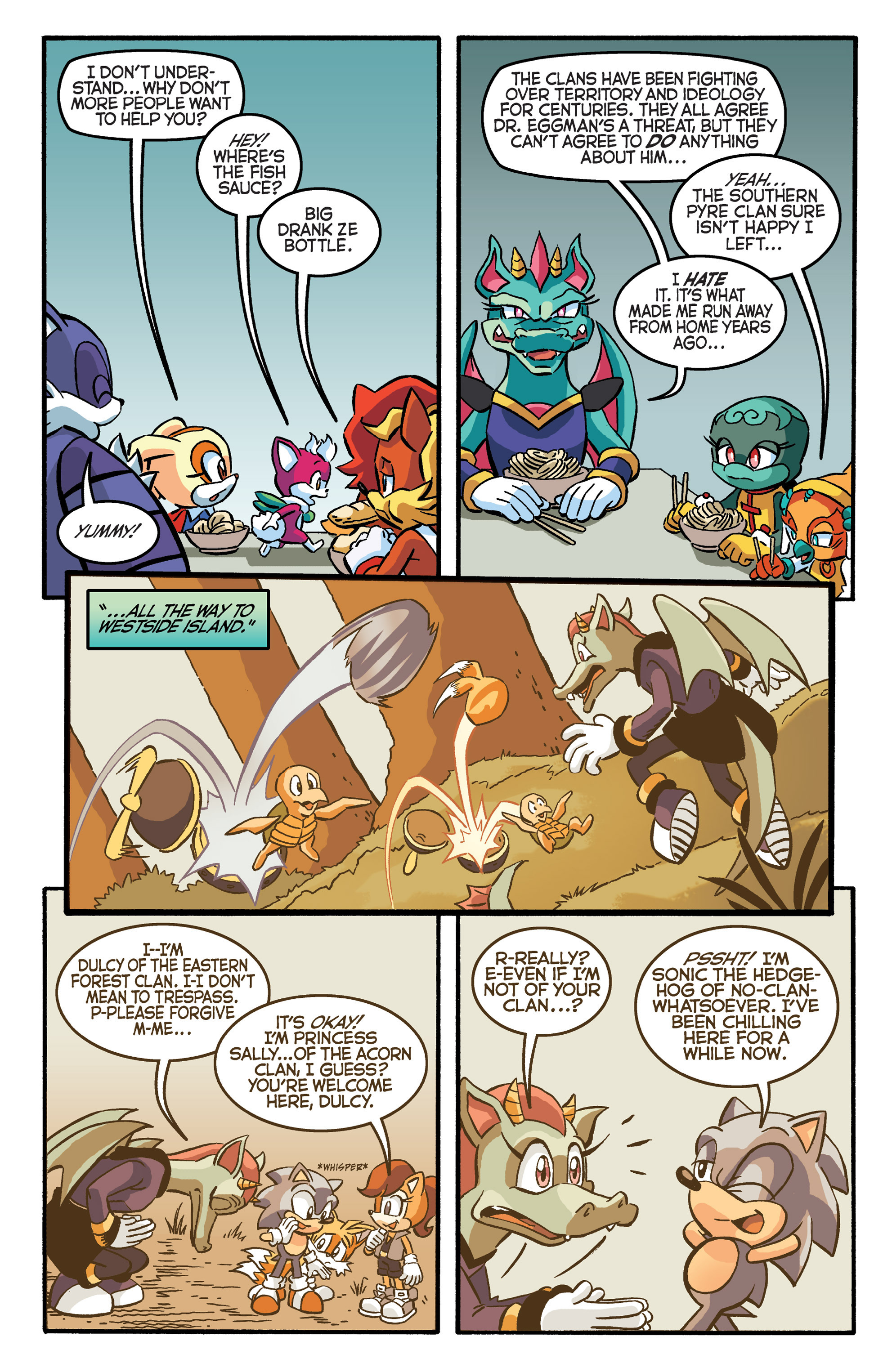 Read online Sonic The Hedgehog comic -  Issue #281 - 9