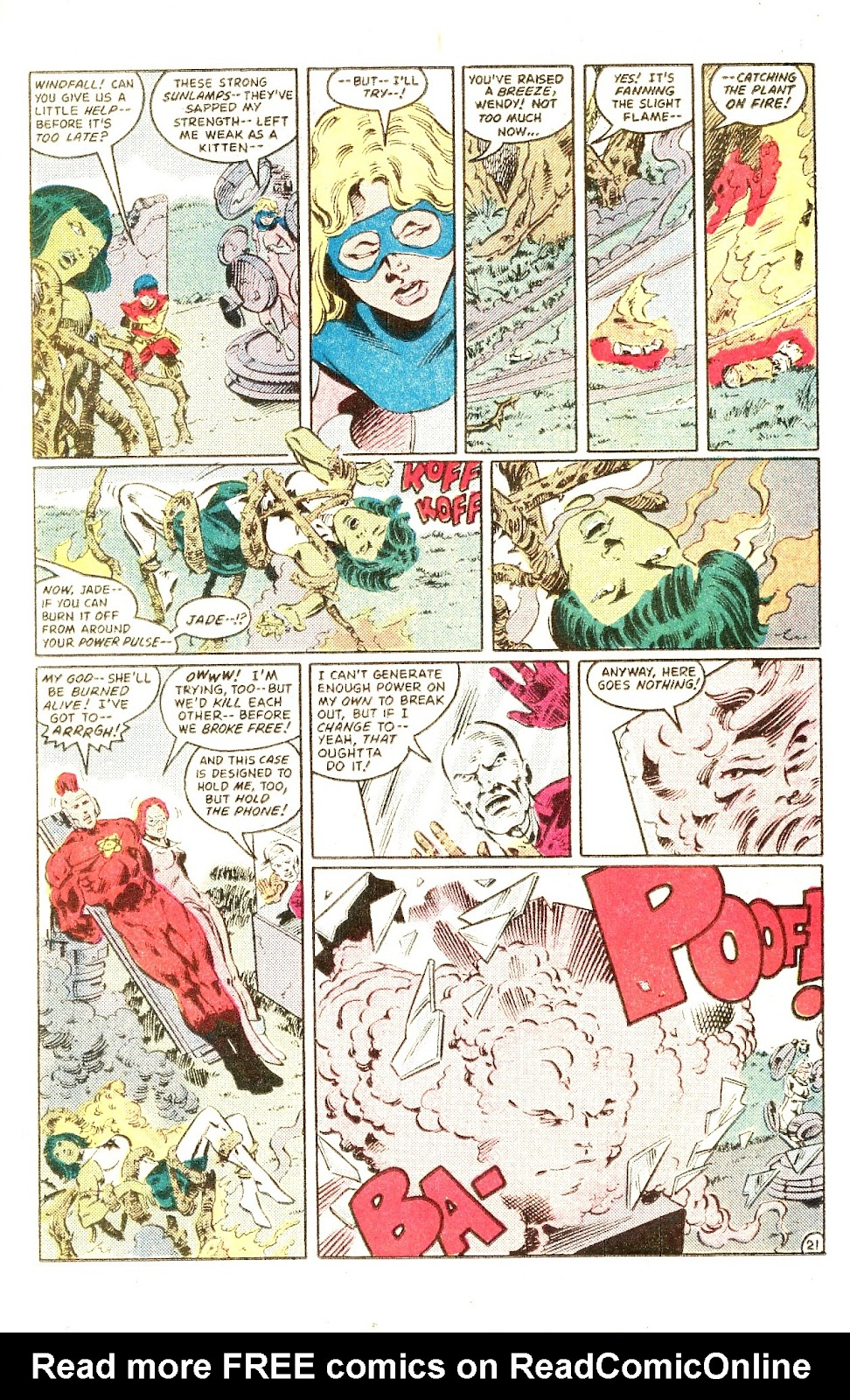 Infinity Inc. (1984) issue Special - Page 27