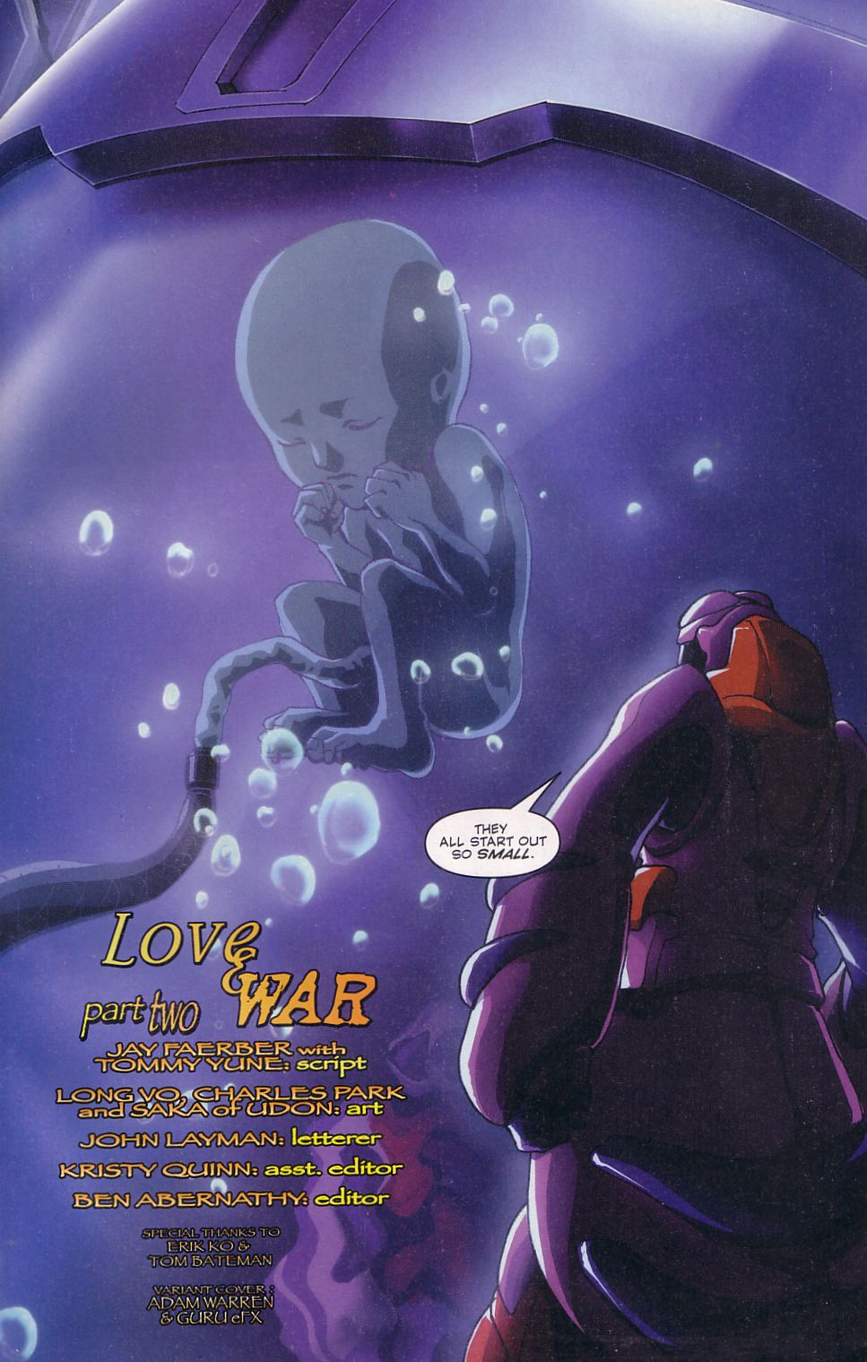 Read online Robotech: Love and War comic -  Issue #2 - 3
