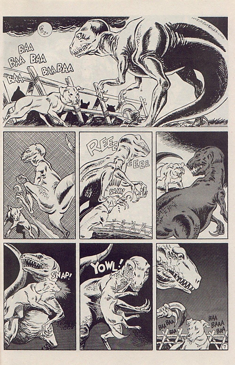 Read online Xenozoic Tales comic -  Issue #5 - 30