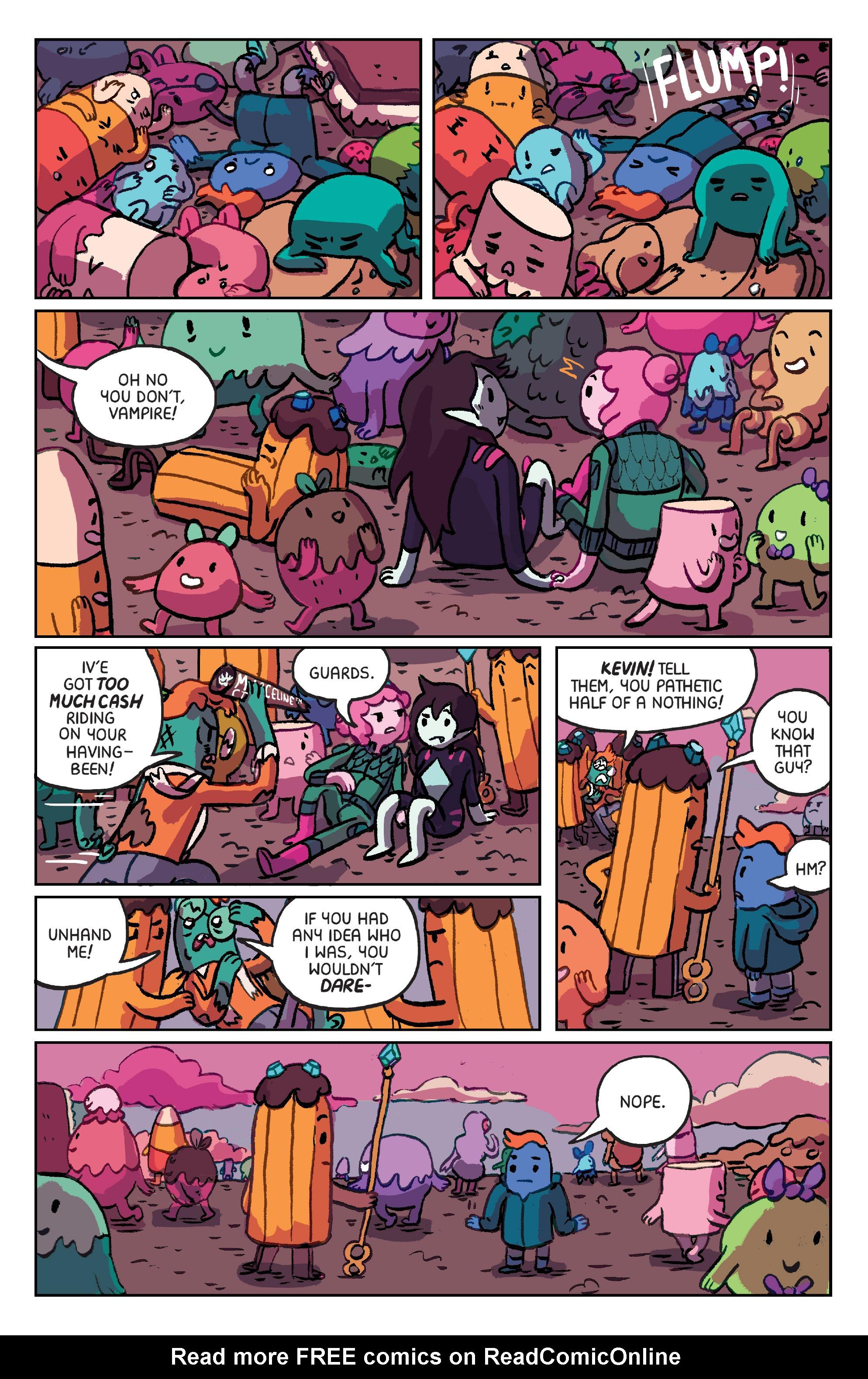 Read online Adventure Time: Marceline Gone Adrift comic -  Issue #6 - 21