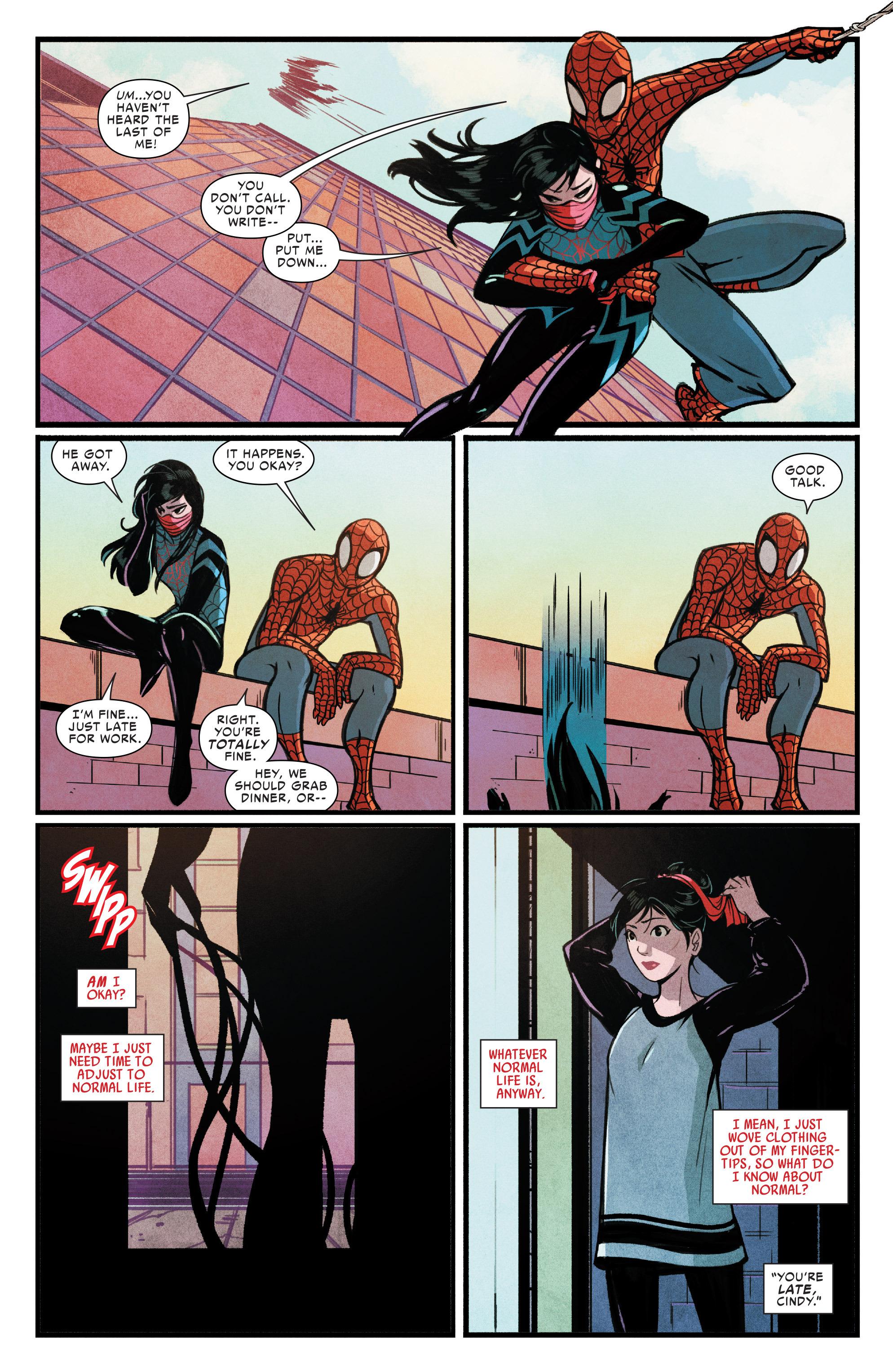 Read online Silk (2015) comic -  Issue #1 - 6