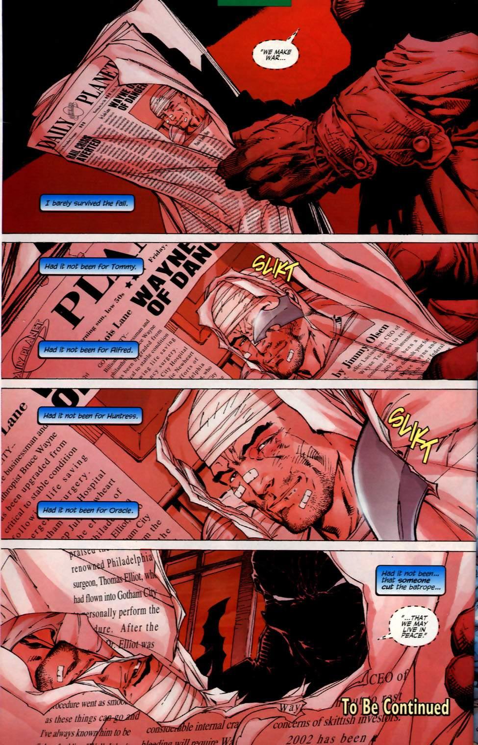 Read online Batman: Hush comic -  Issue #2 - 21