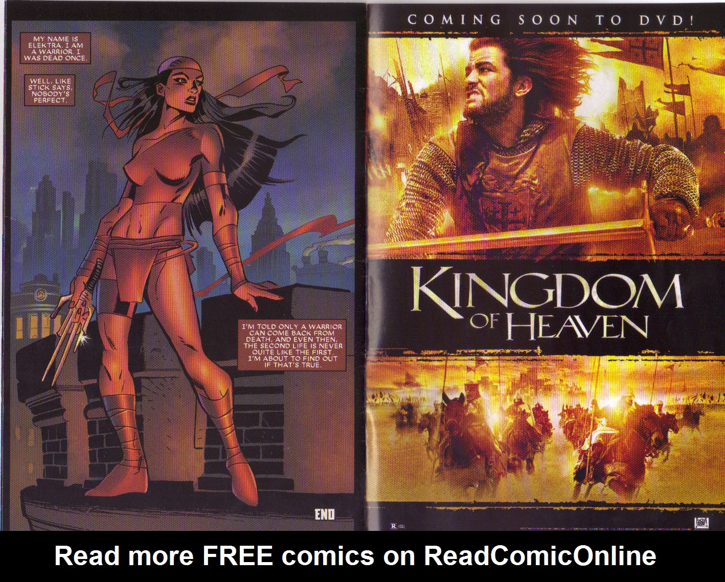 Read online Elektra: On the Rise comic -  Issue # Full - 14